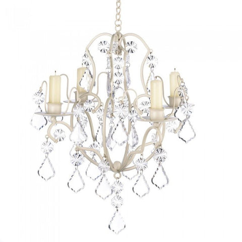 Gallery Of Light 14947 Ivory Baroque Chandelier