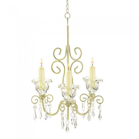 Gallery of Light 38369 Shabby Elegance Scrollwork Chandelier