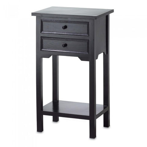 Accent Plus 36643 Black Side Table - livezippy