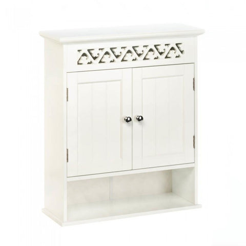 Accent Plus 10017748 Ivy Trellis Wall Cabinet