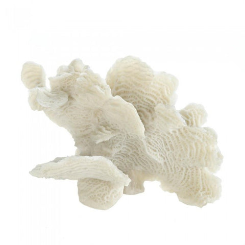 Accent Plus 10017838 Large White Coral Tabletop Decor