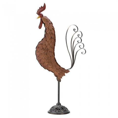 Summerfield Terrace 39447 Metal Sculpture Rooster
