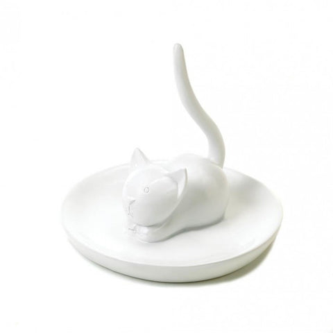 Accent Plus 10016117 Charming Cat Ring Holder