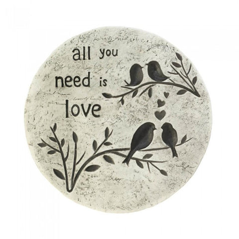 Summerfield Terrace 10017998 All You Need Is Love Stepping Stone