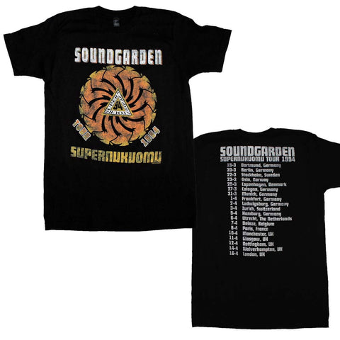 Soundgarden Superunkown Tour 94 Soft T-Shirt
