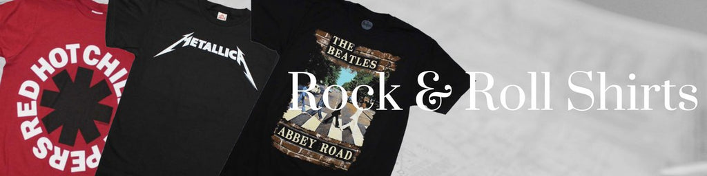 Shop rock & roll t-shirts