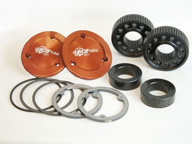 Dana 60 35 Spline Drive Flange Kit for Traditional Spindle