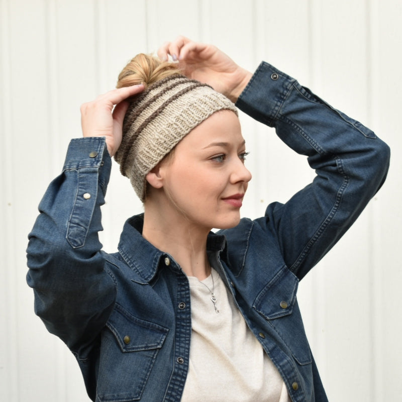 Greenwood Hill Farm's Ponytail Hat is Perfect for Spring Temps