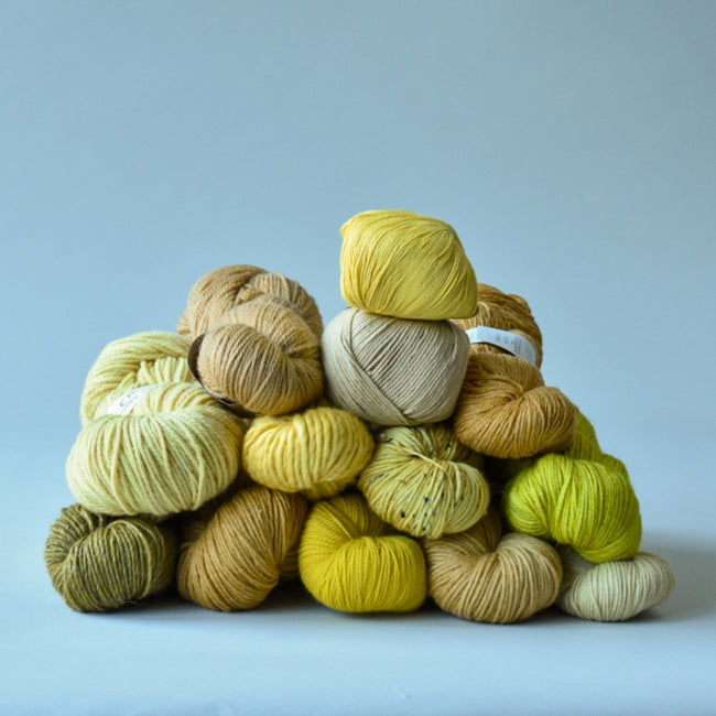 Happy Yellow Yarn