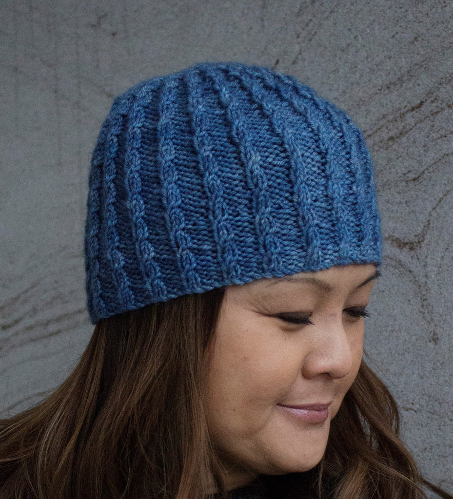 New Hat Design and Designer - Just in Time for More Winter . . . .