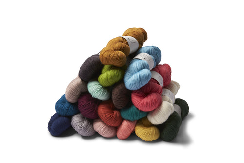 Say Hello to a New Sock Yarn and New Colors!