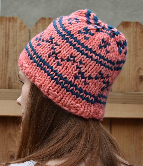 Lorelai's Hat, or Using Multiple Colors