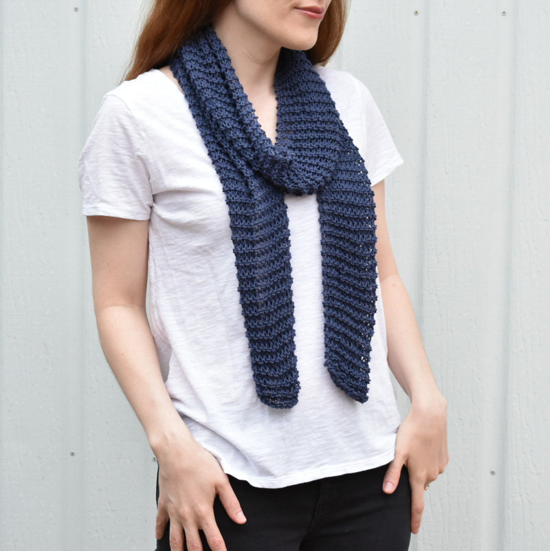 Summer Knitting - Our Easy Breezy Scarf