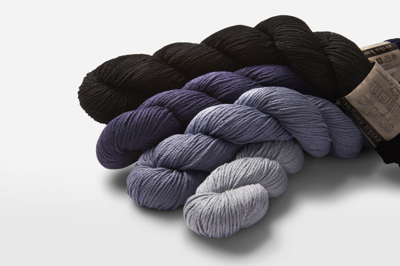 Summer Knitting: Check Out New Colors for Studio Linen and Gossypium Cotton