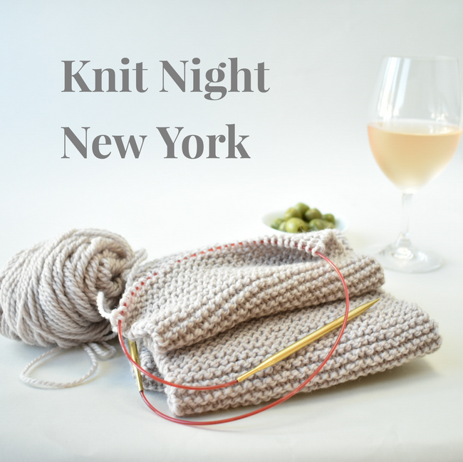 Knit Night January 29th - NYC