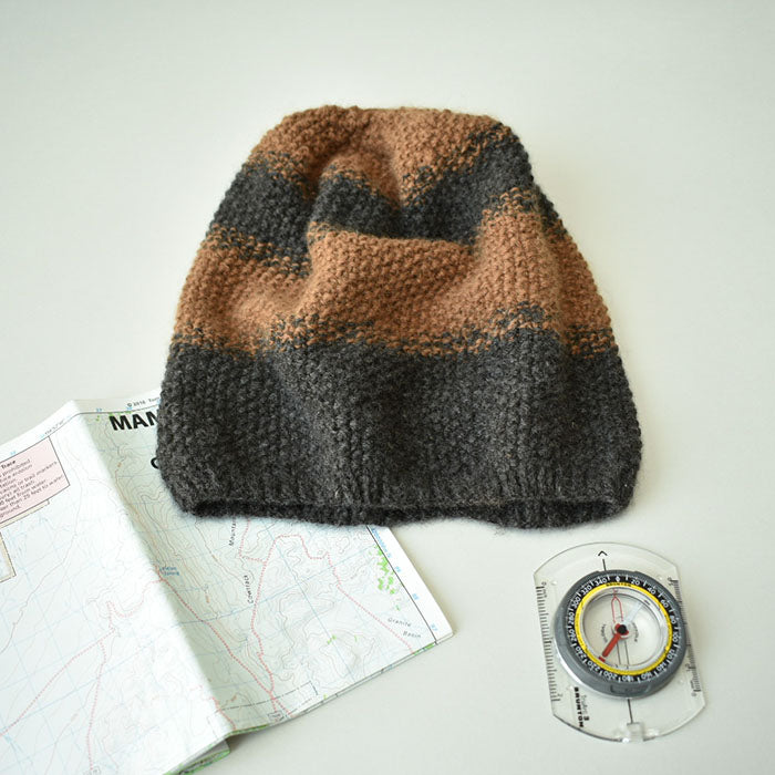 The Reese Slouchy Beanie - Menswear Collaboration with James Cox Knits