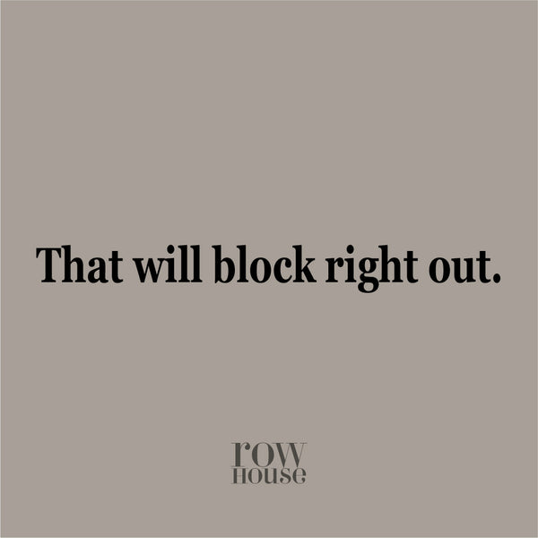 What is Blocking?  And do I really need to do it?