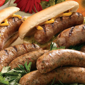 16 Oz. Hand-crafted Bratwursts