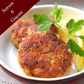 4 Ounce Maryland Crab Cakes | Harter House Meats