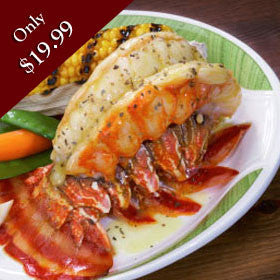 8 Oz. Warm Water  Lobster Tail
