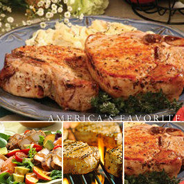 Iowa Thick Cut Pork Chops - 14 Ounce