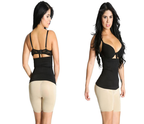Shapex Hourglass Seamless Waist Shaper Available in Black - Shapex - 1