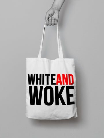 #WHITEANDWOKE Totes **Coming Soon**