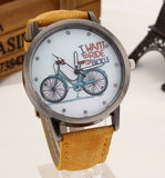 I want to ride my bicycle watch yellow
