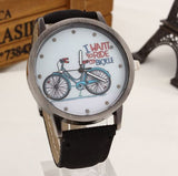 I want to ride my bicycle watch black