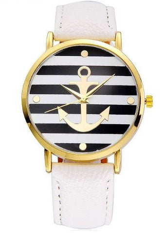 anchor watch sailor white