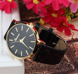 casual watch black