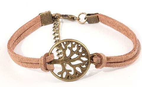 bohemian style jewelry tree of life bracelet coffee