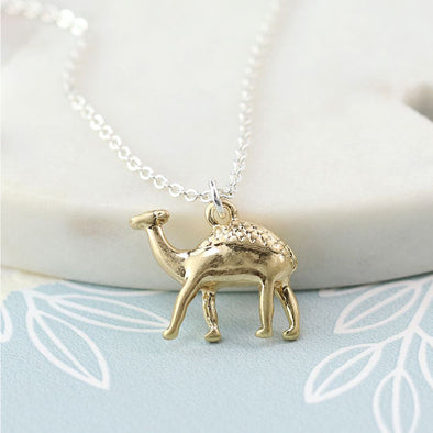 Golden Camel Necklace - Jewellery - Peace Of Mind .925 - TAILOR & FORGE