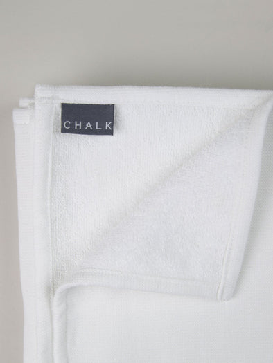 Small Hand Towel - White - Bath & Body - Chalk UK - TAILOR & FORGE