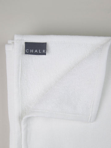 Small Hand Towel - White