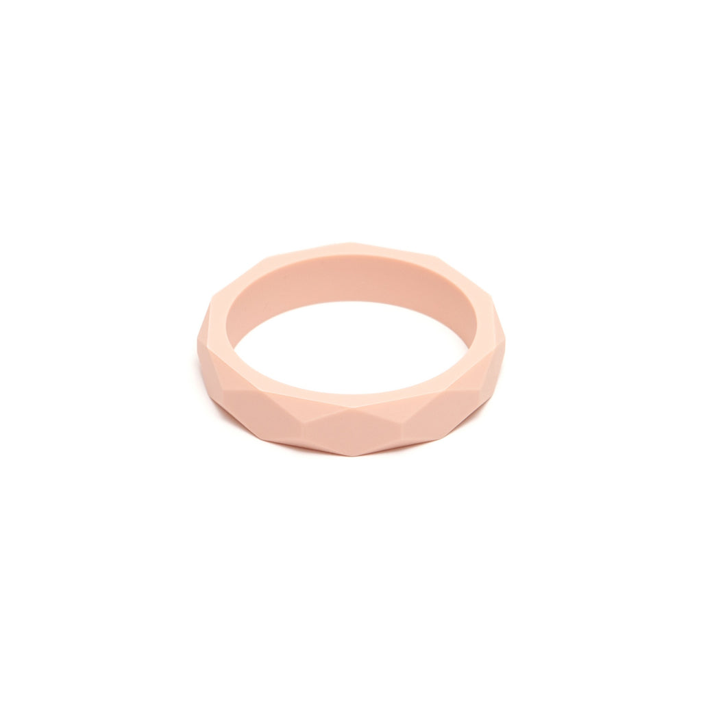 L&O Teething Bangle Blush - Baby & Child - Lara and Ollie Ltd - TAILOR & FORGE