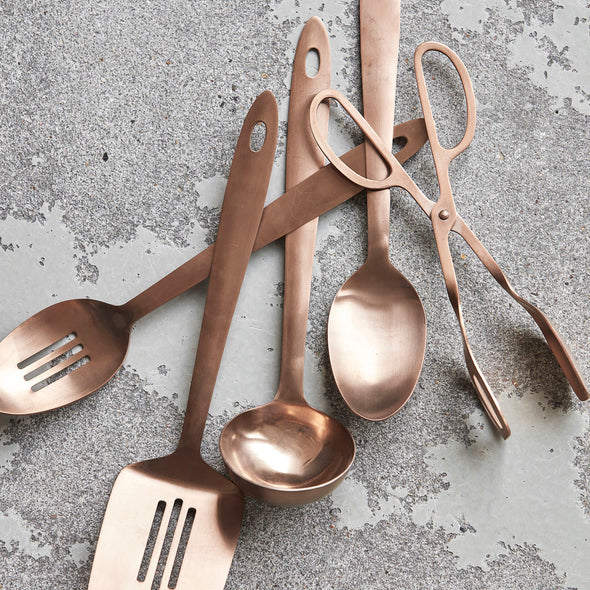 Spatula Copper Finish - Kitchen - Society of Lifestyle - TAILOR & FORGE