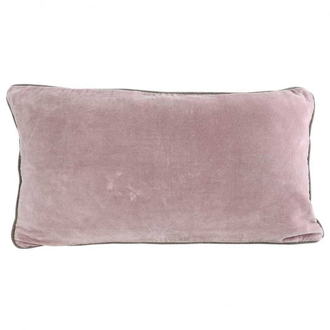 Blush Velvet Breakfast Cushion - Cushions - Morgan & Wright - TAILOR & FORGE