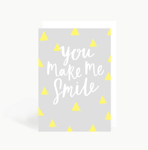 You Make Me Smile Card - Cards - Sadler Jones - TAILOR & FORGE