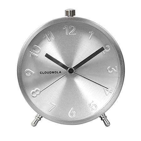 Silver Glammer Clock - Clocks - Cloudnola - TAILOR & FORGE