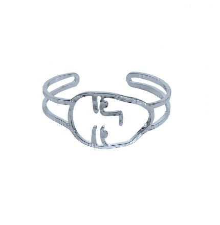 women jewellery - silver - cuff - bangle - Tailor & Forge