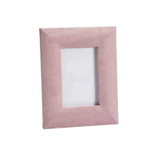 Soft, velvety & clean blush photo frame perfect for any home with its contemporary design. This stylish accessory features both a portrait and landscape rear stand. A Perfect stylish addition to any home from Tailor & Forge