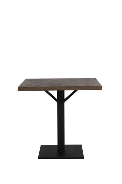 Natural Wood Square Dining Table - Furniture - Light & Living - TAILOR & FORGE