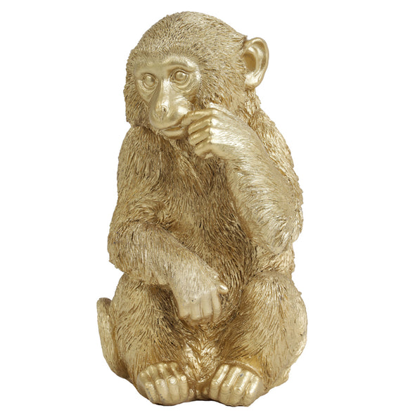 ornaments  monkey  home decor  gold  decor Tailor & Forge