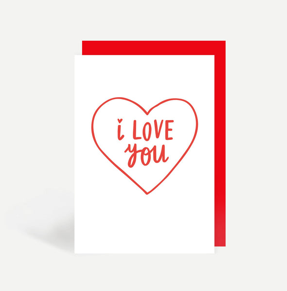 I Love You - Cards - Sadler Jones - TAILOR & FORGE