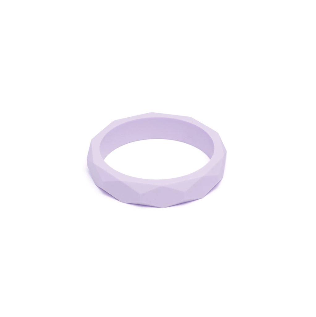 L&O Teething Bangle Lilac - Baby & Child - Lara and Ollie Ltd - TAILOR & FORGE
