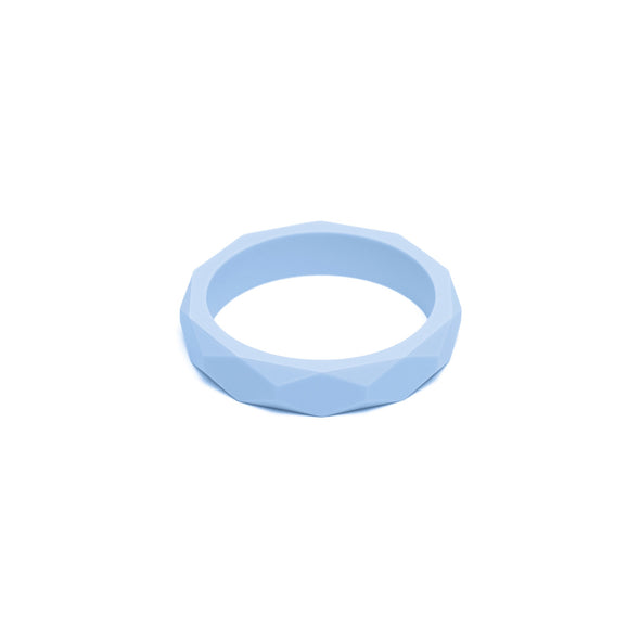 L&O Teething Bangle Pale Blue - Baby & Child - Lara and Ollie Ltd - TAILOR & FORGE