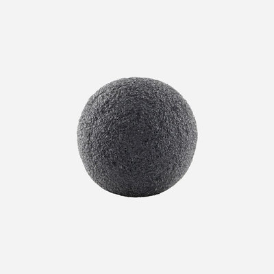 certified konjac sponge, Black, contains bamboo charcoal from Tailor & Forge