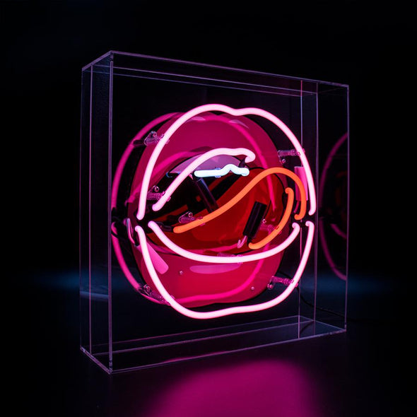sign  Printed Graphic Neon  Neon lighting  Neon Light  Neon  Made by Humans  London Neon  gift idea  Clear Acrylic  All Seeing Eye  Acrylic Neon  Acrylic Box  Acrylic Tailor & Forge
