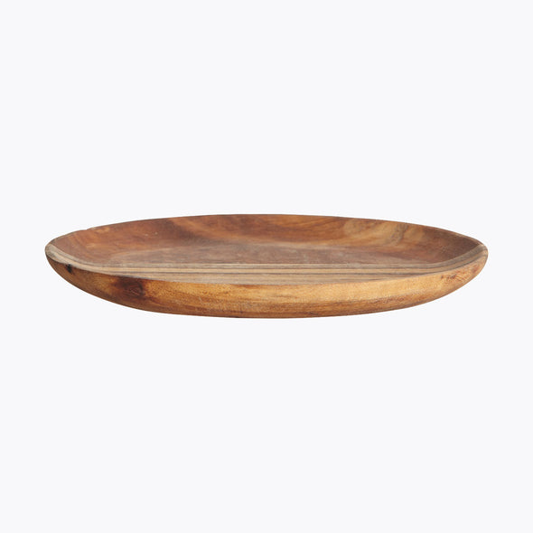 Natural Acacia Wood Tray - Platter - Plate - Wooden Plate - Serving Platter - Tableware - Kitchenware - Tailor & Forge
